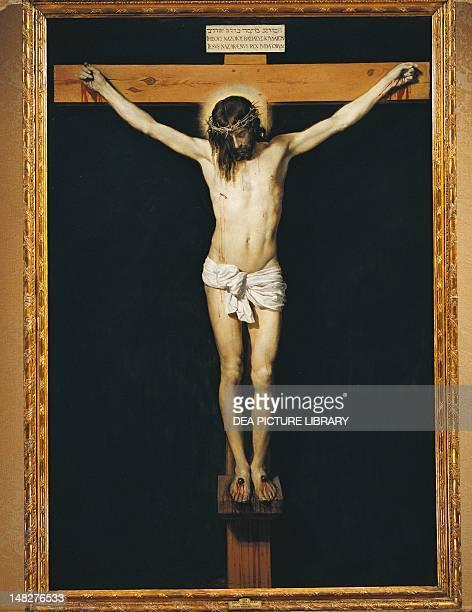 Christ on the Cross by Diego Velazquez oil on canvas 248x169 cm Madrid Museo Del Prado