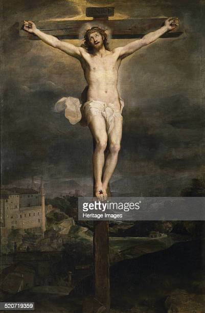 Christ on the Cross Found in the collection of Museo del Prado Madrid