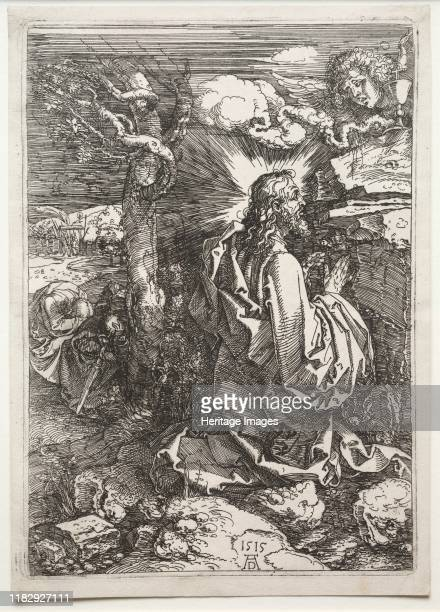 Christ on the Mount of Olives 1515 Creator Martin Johann Schmidt