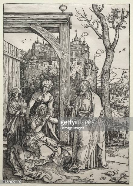 Christ Taking Leave of His Mother circa 15041505 These two woodcuts feature events that overlap in both Marys and Jesuss lives The first is a scene...