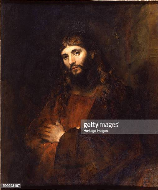 Christ with Arms Folded 16561661 Found in the collection of The Hyde Collection Artist Rembrandt van Rhijn