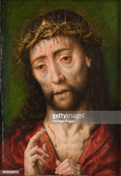 Christ with the crown of thorns First Half of 16th cen Found in the Collection of Rijksmuseum Twenthe Enschede