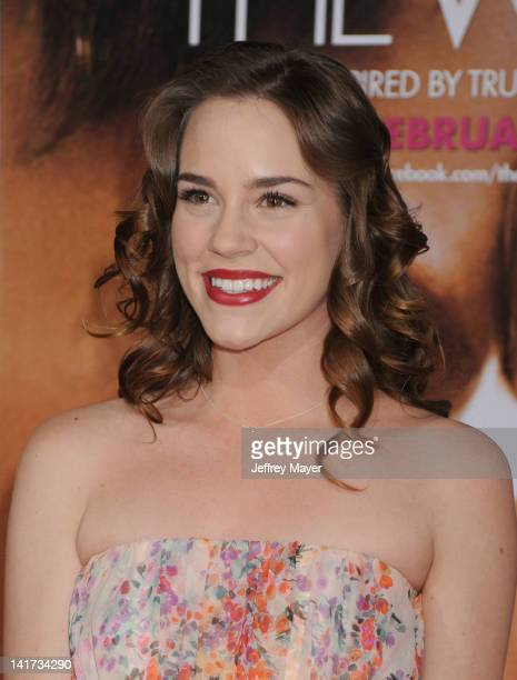 """Christa B. Allen arrives at """"The Vow"""" Los Angeles Premiere at Grauman's Chinese Theatre on February 6, 2012 in Hollywood, California."""