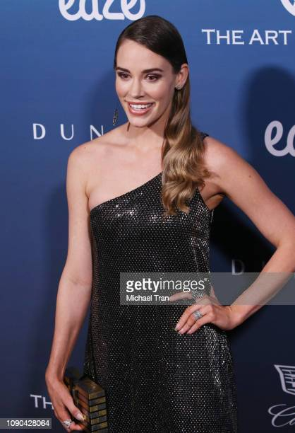Christa B Allen attends The Art Of Elysium's 12th Annual Celebration Heaven held on January 05 2019 in Los Angeles California