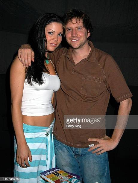Christa Campbell and Jamie Kennedy during Jamie Kennedy Book Release Party at Shelter in West Hollywood, California, United States.