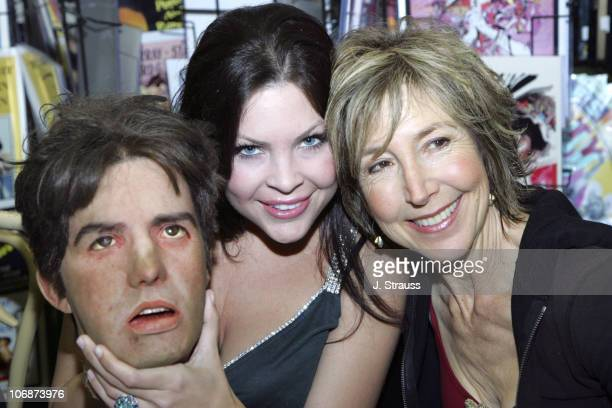Christa Campbell and Lin Shaye during '2001 Maniacs' DVD Release Party and Cast Signing at Hollywood Book Poster March 29 2006 at Hollywood Book...