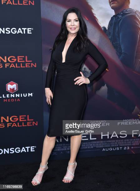 Christa Campbell attends the LA Premiere of Lionsgate's Angel Has Fallen at Regency Village Theatre on August 20 2019 in Westwood California