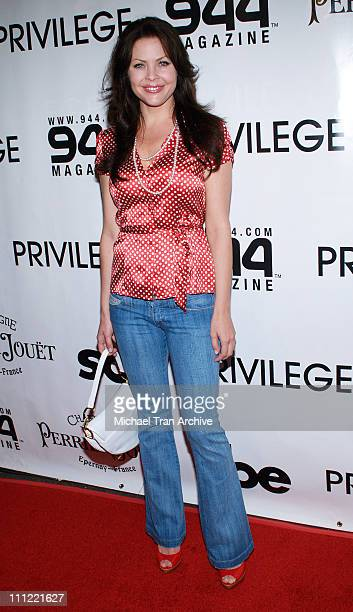 Christa Campbell during 944 Magazine June Issue Launch Party - June 10, 2006 at Privilege in Hollywood, California, United States.