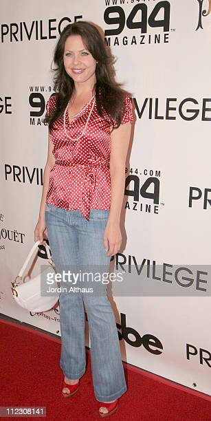 Christa Campbell during 944 Magazine June Issue Release Party at Privilege in Los Angeles, California, United States.