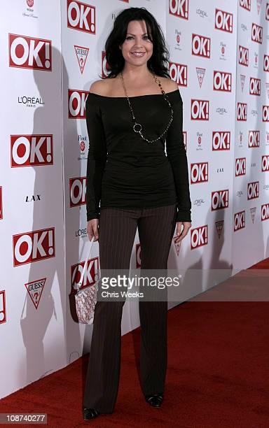 Christa Campbell during Ok! Magazine US Debut Launch Party at LAX in Los Angeles, California, United States.