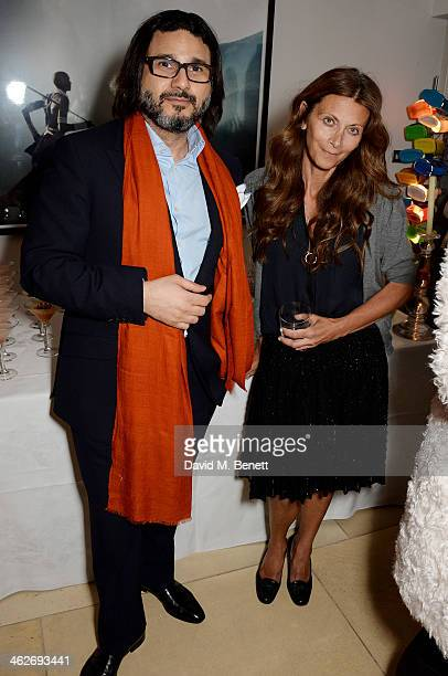 Christa D'Souza attends Christa and Bella's School Project fundraiser hosted by Christa D'Souza and Bella Pollen in aid of Marefat High School in...