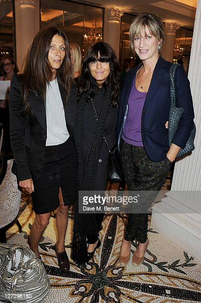 Christa D'Souza Claudia Winkleman and Nicola Formby attend Tatler's 'The Great Girls Lunch' to benefit Cancer Research UK at The Gallery at The...