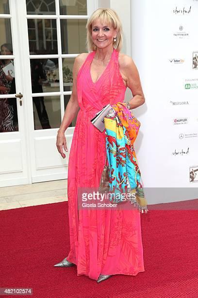 Christa Kinshofer during the 'Die Goldene Deutschland' Gala on July 26 2015 at Cuvillies Theater in Munich Germany