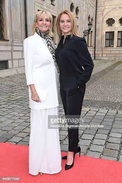 Christa KinshoferRembeck and daughter Stefanie Kinshofer attend the AMADE Deutschland Charity dinner on June 14 2016 in Munich Germany