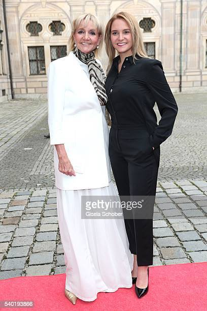 Christa KinshoferRembeck and her daughter Stefanie Kinshofer during a charity dinner hosted by AMADE Deutschland and Roland Berger Foundation at...