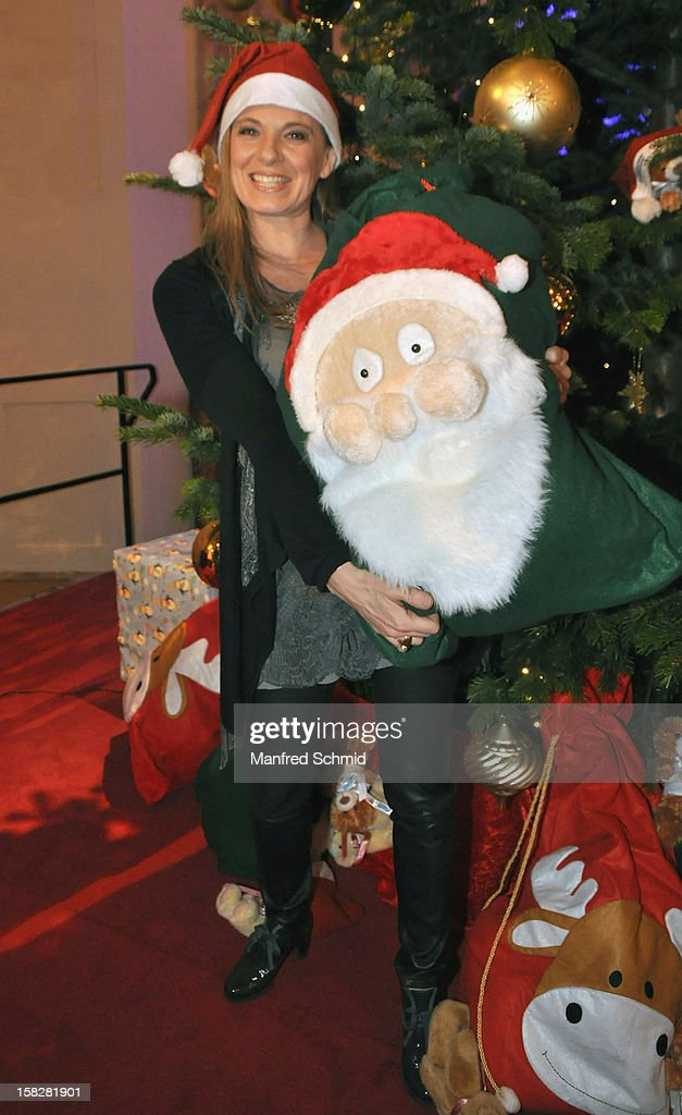 Christa Kummer attends the Christmas ball for children Energy For Life - Heat For Children's Hearts at Hofburg Vienna on December 11, 2012 in Vienna, Austria.