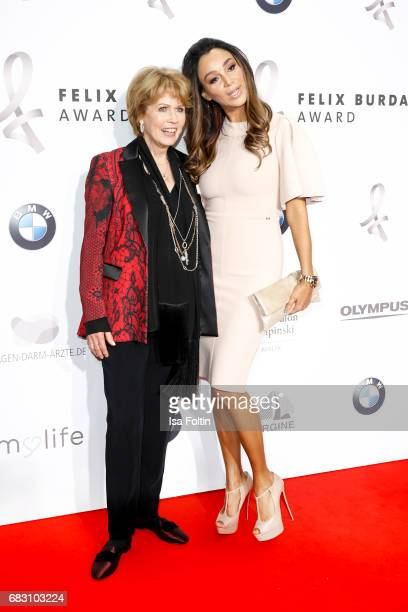 Christa Maar and german presenter Verona Pooth attend the Felix Burda Award 2017 at Hotel Adlon on May 14, 2017 in Berlin, Germany.
