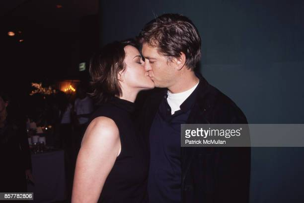 Christa Miller Bill Lawrence General Motors PreOscars Party and Fashion Show The Hollywood Palladium LA March 21 2002