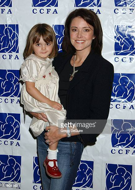 Christa Miller & Daughter Charlotte during 5th Annual Lullabies & Luxuries Luncheon and Fashion Show Benefiting Caring for Children & Families With...