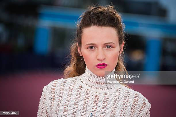 """Christa Theret attends the """"In Dubious Battle"""" Premiere during the 42nd Deauville American Film Festival on September 5, 2016 in Deauville, France."""