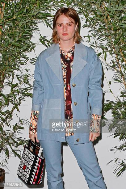 Christabel MacGreevy attends the launch of Reformation's first London store at BaySIXTY6 Skatepark on September 13 2019 in London England