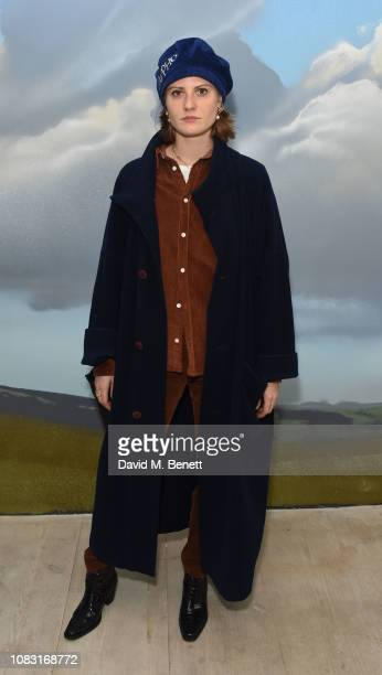 Christabel MacGreevy attends the launch of 'Wiltshire Before Christ' by Aries X Jeremy Deller x David Sims at The Store X 180 The Strand on January...