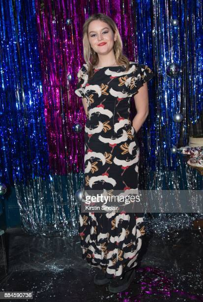 Christabel Rose Reed attends the Burberry x Cara Delevingne Christmas Party on December 2 2017 in London England