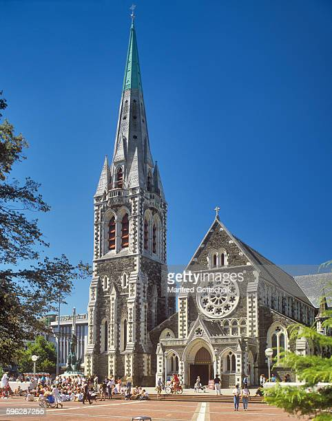 Christchurch Cathedral 1989 view