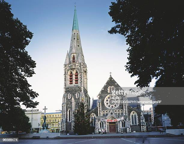 Christchurch Cathedral in Christchurch, New Zealand