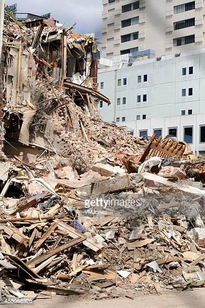 Christchurch Earthquake Devastation 2011