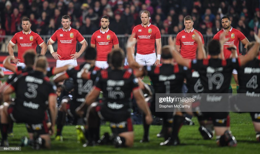 Crusaders v British & Irish Lions : News Photo