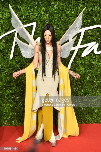 Christeene arrives at The Fashion Awards 2019 held at Royal Albert Hall on December 02 2019 in London England