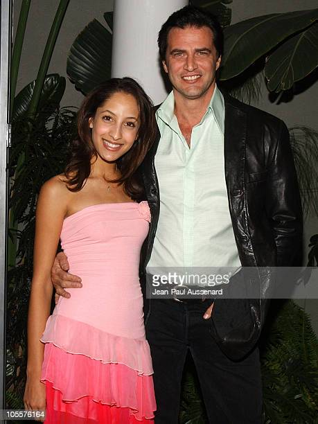 Christel Khalil and John Enos during 19th Annual Soap Opera Digest Awards Reception Arrivals at White Lotus in Hollywood California United States