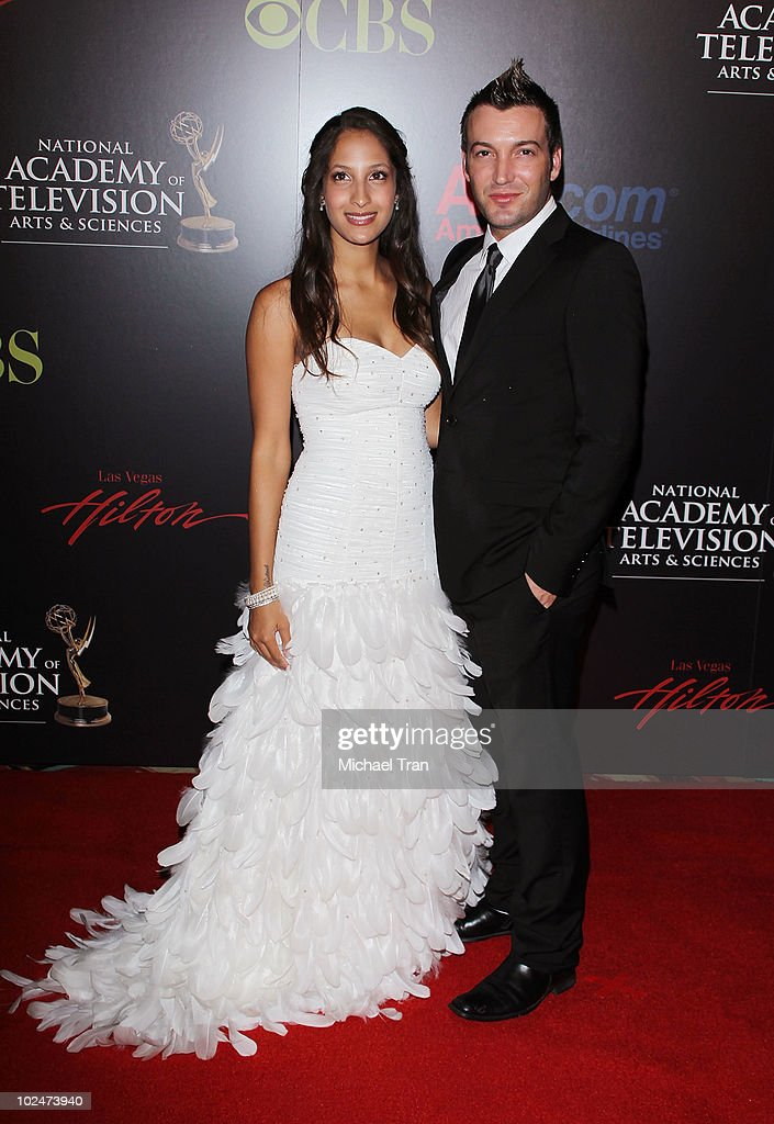 Christel Khalil and Stephen Hensley arrive to the 37th ...