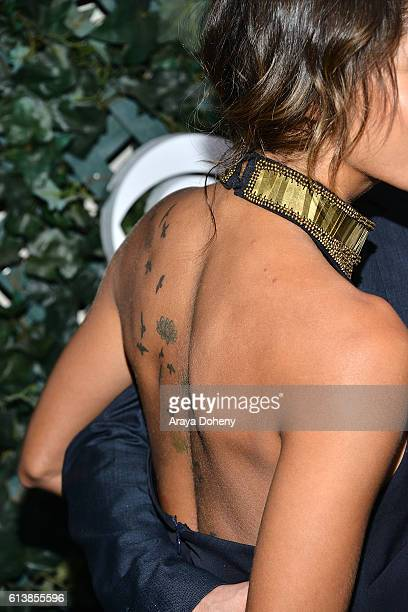 Christel khalil fotograf as e im genes de stock getty images for Christel khalil tattoos