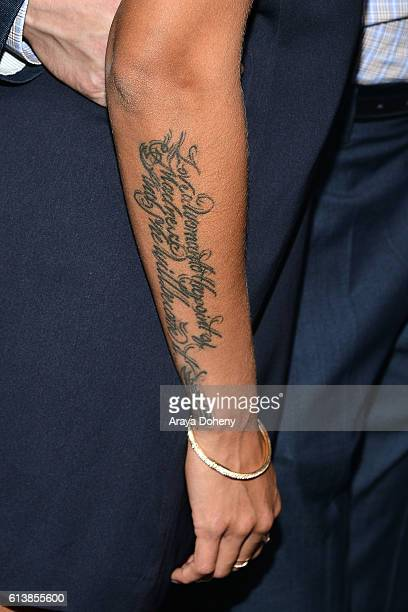 Khalil christel stock photos and pictures getty images for Christel khalil tattoos