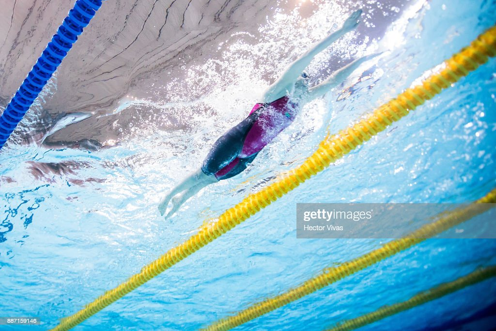 christelle kriel of southafrica competes in womens 200 m medley sm14 during day 3 of the - Olympic Swimming Pool 2017