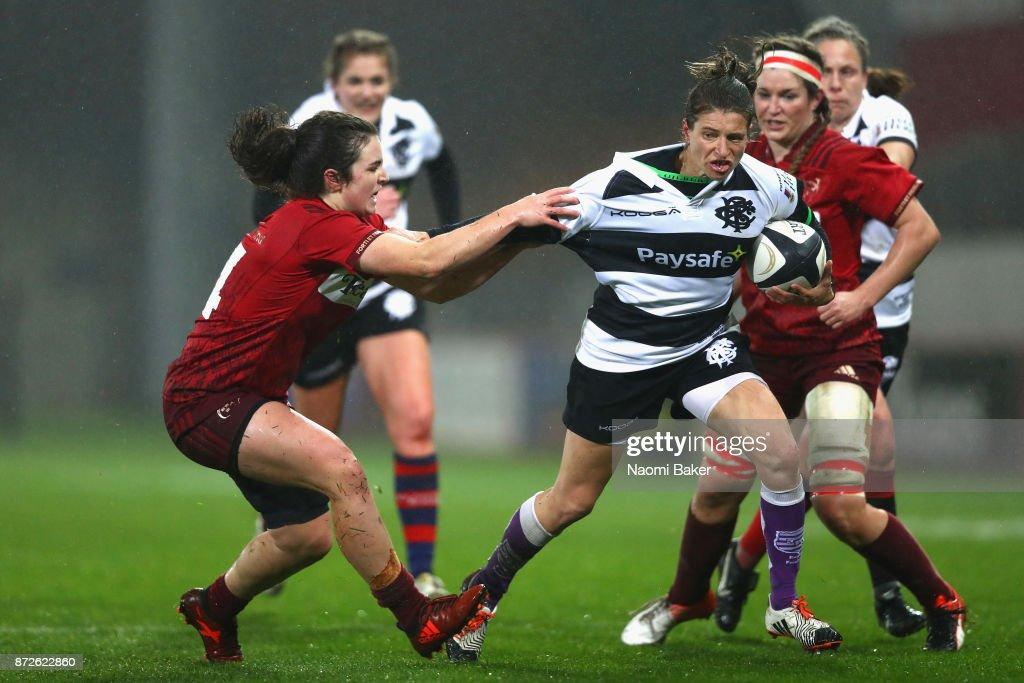 Barbarians Women's RFC v Munster Women - Inaugural Representative Match : Photo d'actualité