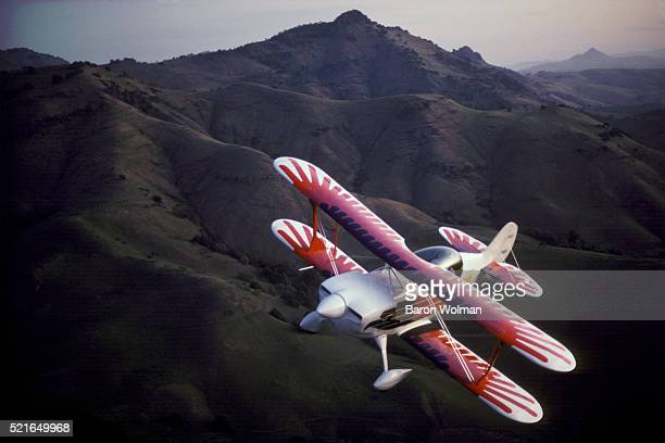 Christen Eagle Bi-Plane, California, United States, circa 1970s.