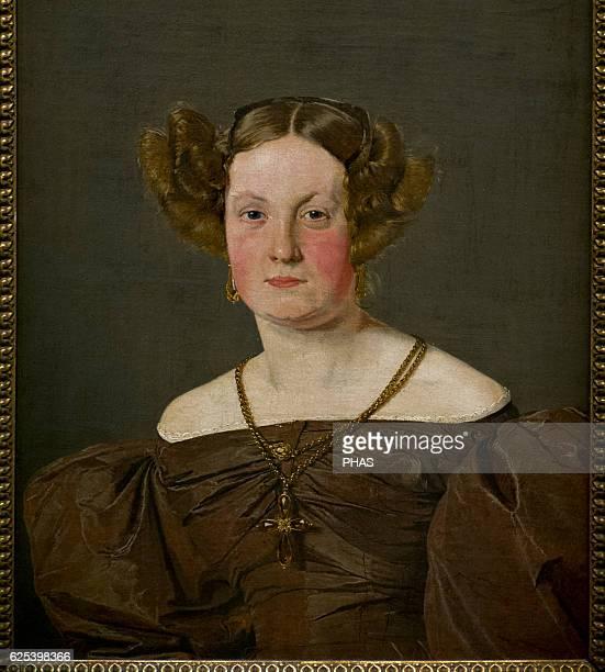 Christen Kobke Danish painter Portrait of Mrs Th Petersen nee Roepstorff 1833 National Museum Stockholm Sweden
