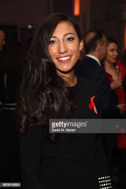 Christen Press attends the World Aids Day Charity Gala aimed at using football to educate and inspire vulnerable young people in developing countries...