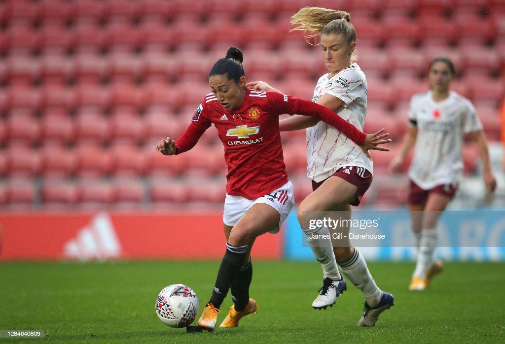 Manchester United Women v Arsenal Women - Barclays FA Women's Super League : News Photo