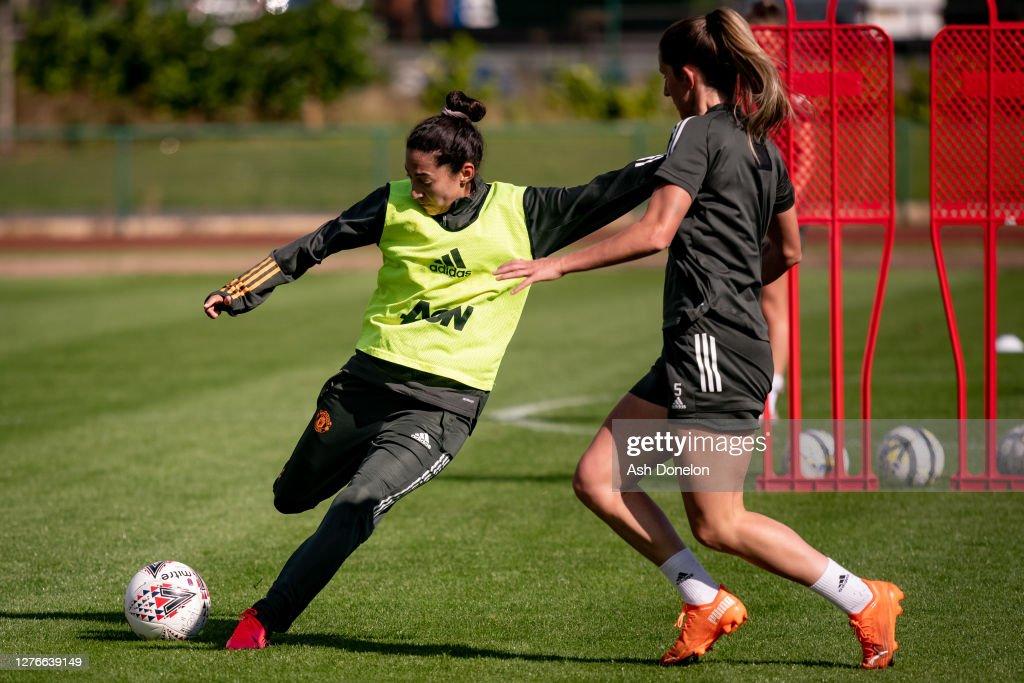 Manchester United Women Training Session : News Photo