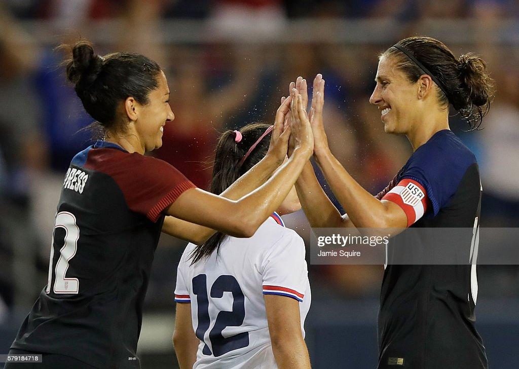 Costa Rica v United States : News Photo