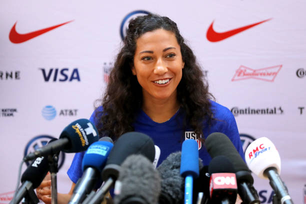 FRA: USA Training & Press Conference - FIFA Women's World Cup France 2019