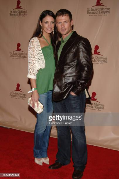 Christen Stewart and Jacob Young during The 11th Annual Daytime Television Salutes St Jude Children's Research Hospital at Marriott Marquis in New...
