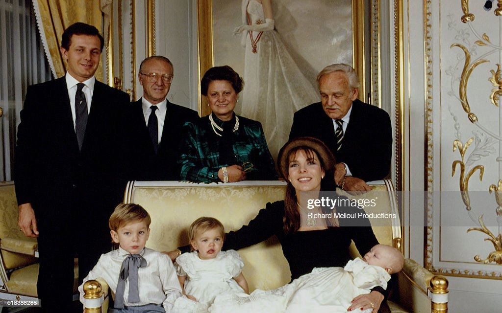 Christening of Pierre Casiraghi : News Photo