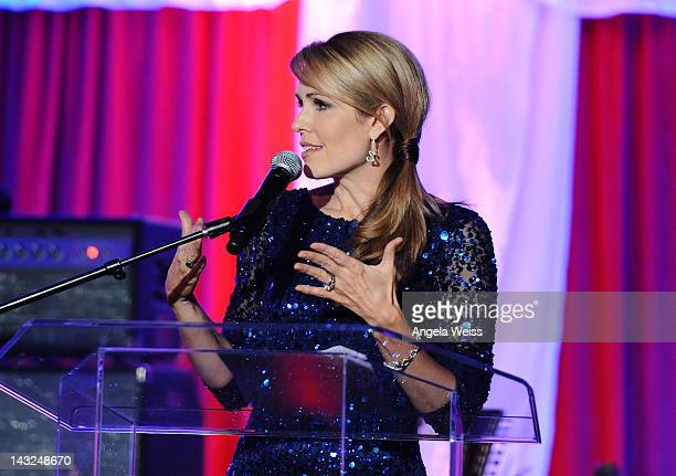 Christi Paul attends Jane Seymour's 2nd annual Open Hearts Foundation Celebration held at a private residency on April 21 2012 in Malibu California