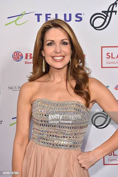 Christi Paul attends the David Foster Foundation Benefit Concert at Allstream Centre on December 5, 2013 in Toronto, Canada.