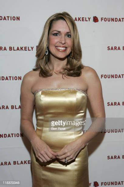 Christi Paul during Sir Richard Branson CoHosts the Sara Blakely Foundation Give a Damn Party Arrivals at Macy's Building in Atlanta Georgia United...